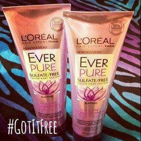 Photo of L'Oréal Paris EverPure Volume Shampoo uploaded by Amanda S.