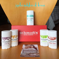 Schmidt's Natural Deodorant Deluxe 5-Pack Sticks Gift Box - Aluminum-free - Odor and Wetness Protection uploaded by Jennifer R.