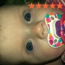 Photo of NUK Trendline Orthodontic Pacifier uploaded by Brittany B.
