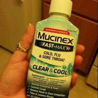 Mucinex® Fast-Max® Clear & Cool™ Maximum Strength Cold, Flu & Sore Throat 6 fl. oz. Plastic Bottle uploaded by Itzel P.