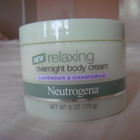 Neutrogena® Relaxing Overnight Body Cream, Lavender and Chamomile uploaded by Tracy W.