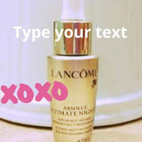 Lancôme Absolue Ultimate Night Bx Night Serum Intense Night Recovery and Replenishing Moisturizer uploaded by Fatoumata L.