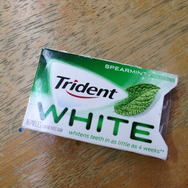 Trident Spearmint Sugar Free Gum uploaded by Alejandra P.