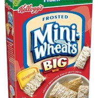 Kellogg's Frosted Mini Wheats Original Big Bite Cereal uploaded by Hannah D.