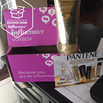 Photo of Pantene 3 Minute Miracle Smooth & Sleek Deep Conditioner uploaded by Rachel K.