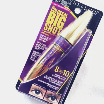 Photo of Maybelline Volum' Express® The Colossal Big Shot™ Washable Mascara uploaded by Stephanie G.