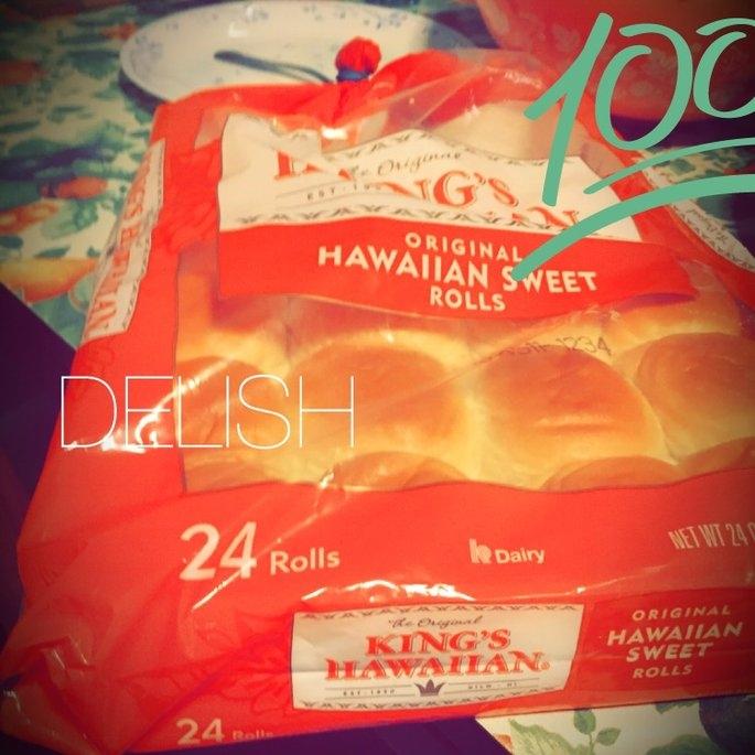 King's Hawaiian Original Hawaiian Sweet Rolls uploaded by Tina L.