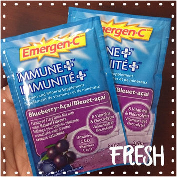 Photo of Emergen-C Immune+ System Support* with Vitamin D Blueberry-Acai uploaded by Thuy D.