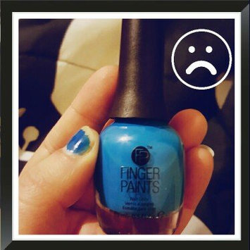 Photo of FingerPaints Nail Color Inkblot Blue Neon uploaded by Ashley C.