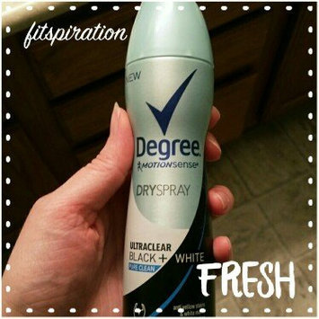 Degree Women Ultra Clear Black + White Antiperspirant Pure Clean Dry Spray uploaded by Elizabeth M.