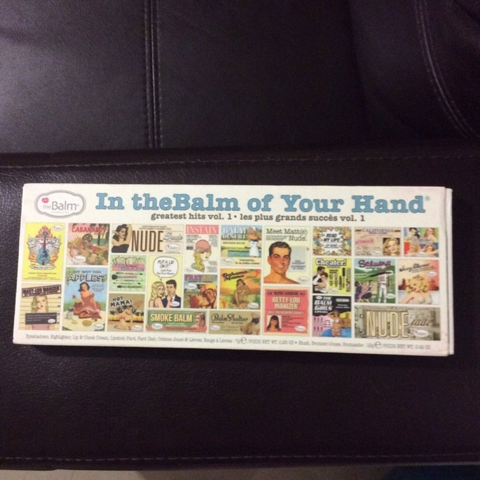 the Balm - In the Balm of Your Hand Greatest Hits Vol 1 Holiday Face Palette uploaded by Helen R.
