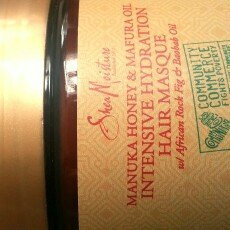 SheaMoisture Manuka Honey & Mafura Oil Intensive Hydration Hair Masque uploaded by Yajhayra M.