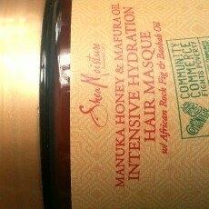 SheaMoisture Manuka Honey & Mafura Oil Intensive Hydration Hair Masque uploaded by Yajhayra M.