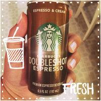 Starbucks Double Shot Espresso And Cream Coffee Drink uploaded by Carli W.