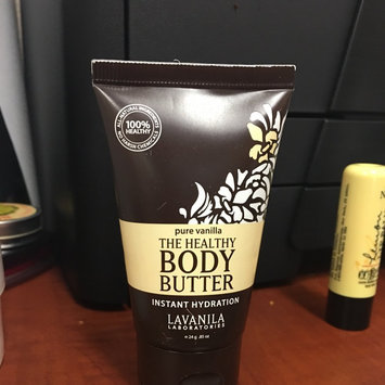 Photo of The Healthy Body Butter - Pure Vanilla by Lavanila for Women - 0.85 oz Body Butter uploaded by Melissa R.