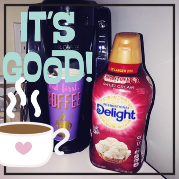 Photo of International Delight Gourmet Coffee Creamer Cold Stone Creamery Sweet Cream uploaded by Allison B.
