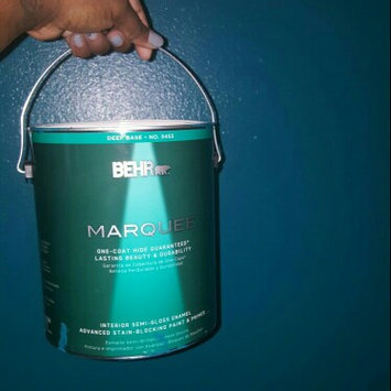 Interior Paint, Exterior Paint & Paint Samples: BEHR Premium Plus Paint 1-gal. Ultra Pure White Semi-Gloss Zero VOC Interior Paint 305001 uploaded by Jamillah C.