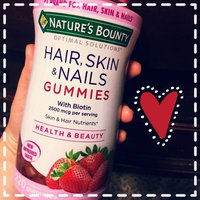 Nature's Bounty Optimal Solutions Hair, Skin and Nails Gummies - 220 Count uploaded by member-4095ce6d0