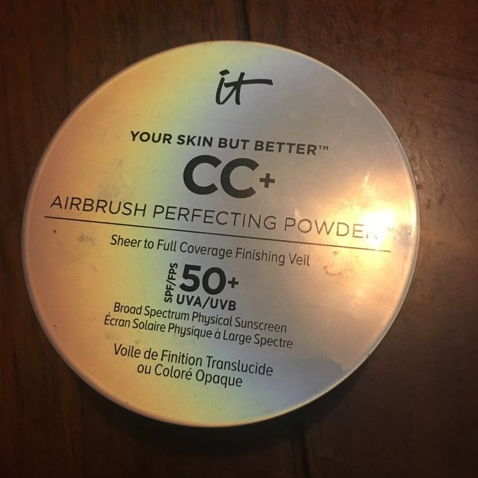 It Cosmetics Your Skin But Better CC+ Airbrush Perfecting Powder SPF50+ uploaded by Ashley N.
