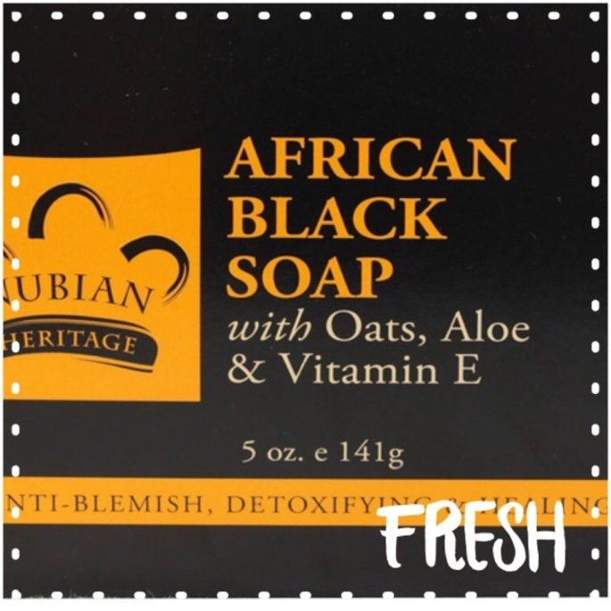 Nubian Heritage African Black Soap uploaded by Heather H.