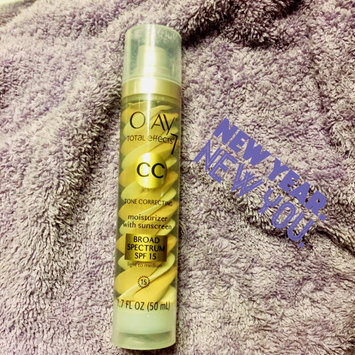 Photo of Olay Total Effects Tone Correcting CC Cream with SPF 15 Light To Medium uploaded by Brandy A.