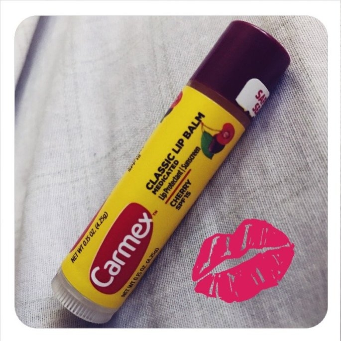 Carmex Moisturizing Lip Balm Stick SPF 15 uploaded by Nay N.