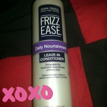 John Frieda Frizz-Ease Daily Nourishment Leave-In Conditioning Spray uploaded by Yvonne A.