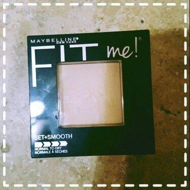 Maybelline Fit Me! Set + Smooth Pressed Powder uploaded by Jennifer G.