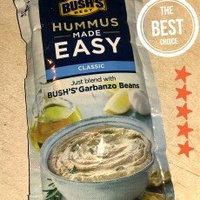 Bush's® Best Classic Hummus Made Easy 6 oz. Pouch uploaded by Sierra B.