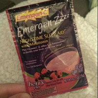 Emergen-C Emergen-zzzz Nighttime Sleep Aid with Melatonin, Mellow Berry uploaded by Savannah W.