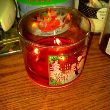 Photo of Bath & Body Works 1 X Bath and Body Works Winter Candy Apple 3 Wick Scented Candle 14.5 Oz. 2014 Edition uploaded by Maggie M.