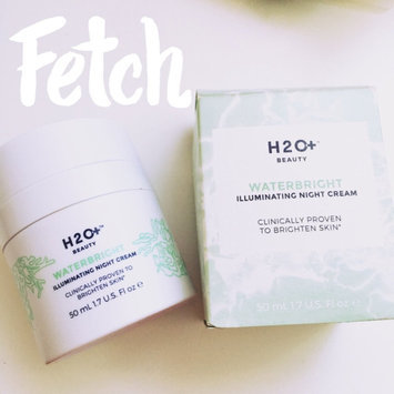 Photo of H2O Plus Waterbright Illuminating Night Cream uploaded by Diana O.