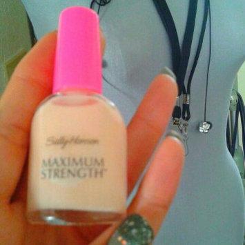 Photo of Sally Hansen® Maximum Strength Nail Treatment uploaded by LaToya D.