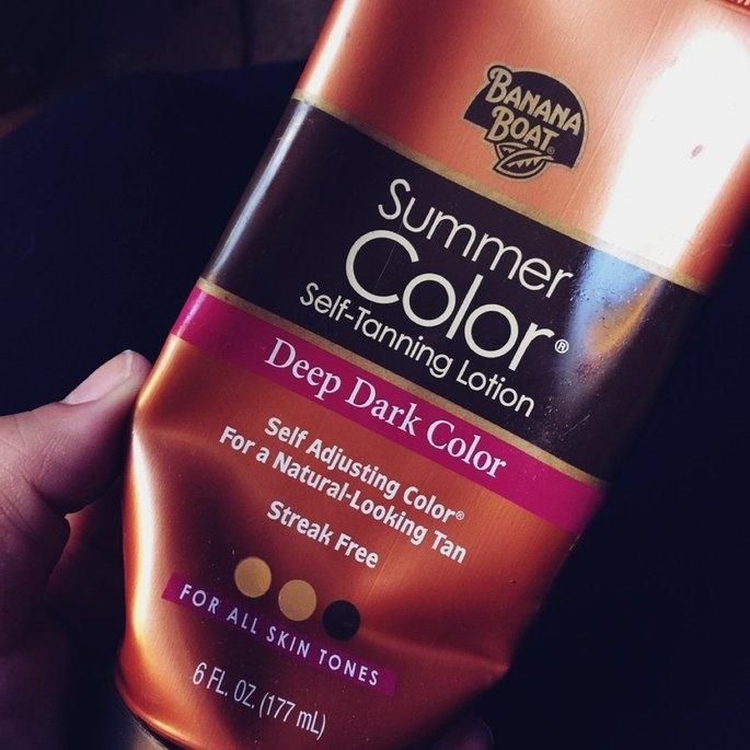 Banana Boat® Summer Color® Deep Dark Color Self-Tanning Lotion 6 fl. oz. Tube uploaded by Ashley A.