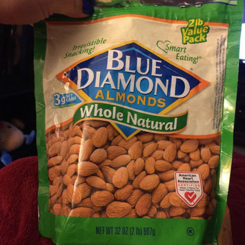 Blue Diamond Whole Natural Almonds 32 Oz Stand Up Bag uploaded by Melissa S.