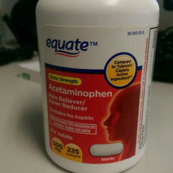 Photo of Equate Acetaminophen Pain Reliever/Fever Reduction uploaded by Kristine J.