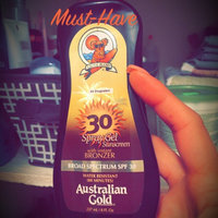 Australian Gold Spray Gel with Instant Bronzer SPF 30 uploaded by Frances M.