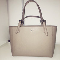 Tory Burch York Small Two-Tone Saffiano Leather Tote uploaded by Andrea S.