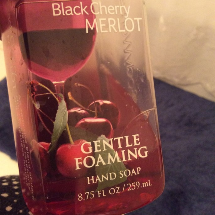 Bath & Body Works Bath and Body Works Black Cherry Merlot Gentle Foaming Hand Soap 8.75oz. Pack of 2 uploaded by Norah T.