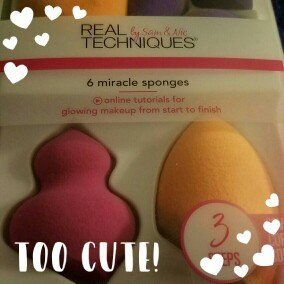 real techniques 6 miracle sponges uploaded by Mellissa R.