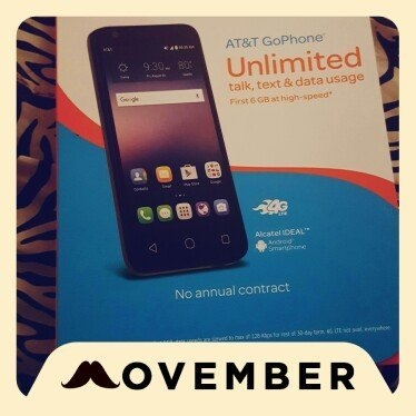 At & t Gophone - Alcatel Ideal 4g Lte With 8GB Memory Prepaid Cell Phone - Slate Blue uploaded by Faith D.