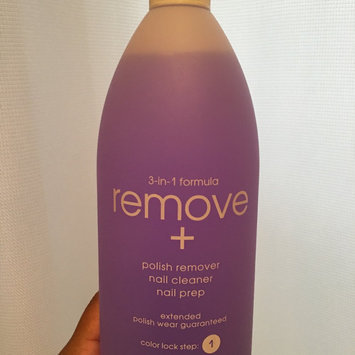 Photo of Zoya Remove Plus Nail Polish Remover uploaded by Wendy M.