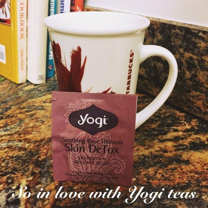 Yogi Tea Soothing Rose Hibiscus Skin DeTox uploaded by Maggie B.