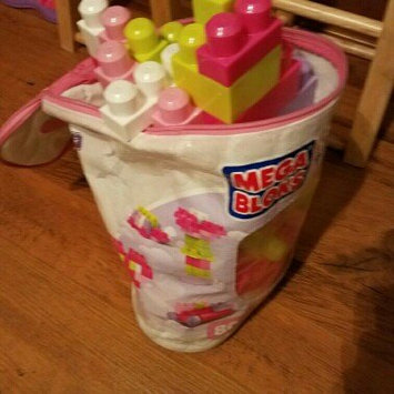 Photo of Mega Bloks First Builders Big Building Bag Pink - 80 pieces uploaded by Cassie Y.