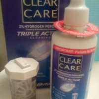 Clear Care 3% Hydrogen Peroxide Cleaning & Disinfecting Solution Travel Pack uploaded by Sarah C.