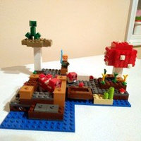 Lego Minecraft The Mushroom Island 21129 uploaded by Sarah S.