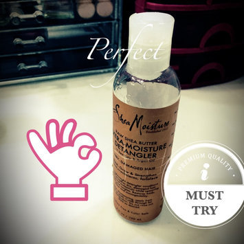Photo of SheaMoisture Raw Shea Butter Extra-Moisture Detangler uploaded by Mirella N.