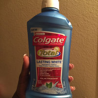 Colgate Total Lasting White Mouthwash Polar Fresh Mint uploaded by Brittiney D.