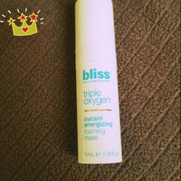 Bliss Triple Oxygen Instant Energizing Mask uploaded by Lindsey B.
