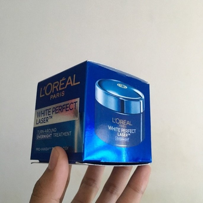 L'Oréal White Perfect Laser Turn-Aroud Overnight Treatment 50ml/1.7oz uploaded by Nir M.